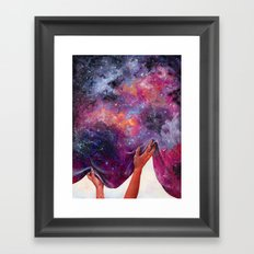 Women Hold Up Half the Sky Framed Art Print