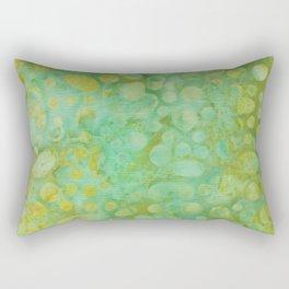 Green Batik 02 Rectangular Pillow
