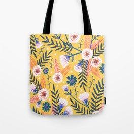 Sunshine florals Tote Bag