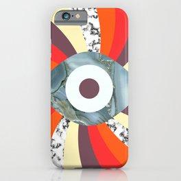 Hypno Retro Eye iPhone Case