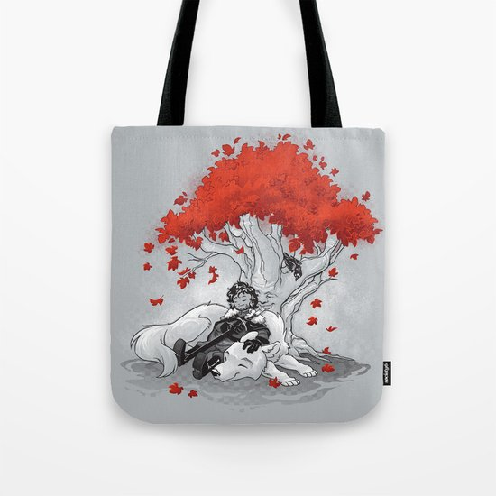 Dreaming of a Quiet Winter Tote Bag