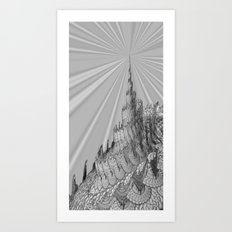 The Third Tower Art Print