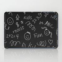 teacher iPad Cases featuring School teacher #5 by Juliana RW