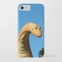 dinosaur iPhone & iPod Cases featuring Dinosaur by Ink and Paint Studio