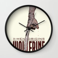 X-Men Origins: Wolverine Wall Clock