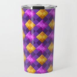 Bejewelled Argyle Travel Mug