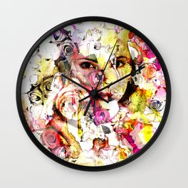 face of face Wall Clock