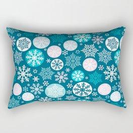 Magical snowflakes IV Rectangular Pillow