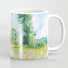 spring in Giverny Monet Claude Coffee Mug