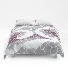 Angry Ocean Comforters