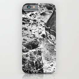 Black and White Luxurious Marble Art iPhone Case