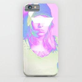 Neon Grime iPhone Case