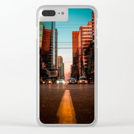 Ready, Set, GO! Clear iPhone Case