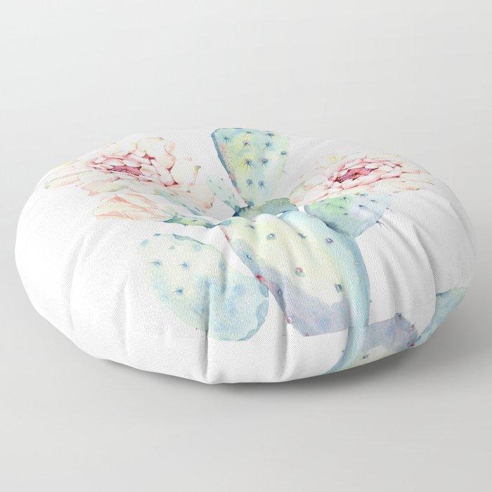 The Prettiest Cactus Floor Pillow