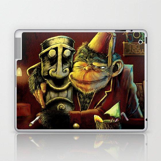 Last Call At Tikilandia Laptop & iPad Skin