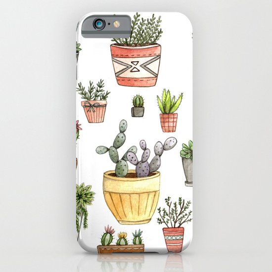 Potted Succulents iPhone & iPod Case