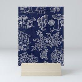 Fungus And Lichen Chart Mini Art Print