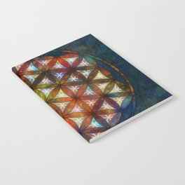 The Flower of Life Symbol Notebook