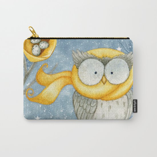 Winter animal #8 Carry-All Pouch