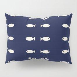Fish Pattern,Nautical Pillow Sham