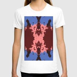 Batik Mandala Rorschach Ink Blot - Ranmaru T-shirt