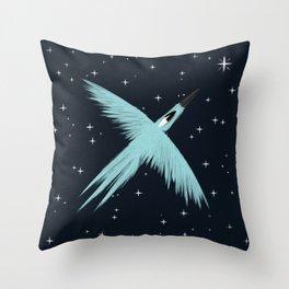 Flying Bird Throw Pillow
