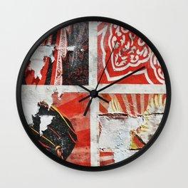 Wall Flower Detail Wall Clock