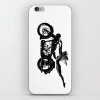 nirvana iPhone & iPod Skins featuring Nirvana by William Michael