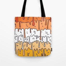 Pastel Kawaii Melting Butch Lesbian Pride LGBTQ Design Tote Bag