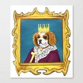 King Charles Cavalier Canvas Print