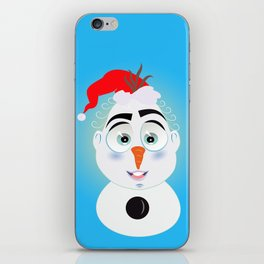 Lolo AlfsToys wants to become in Olaf iPhone Skin