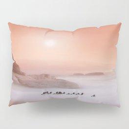 Peachy Morning Pillow Sham
