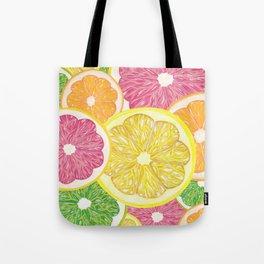 Citrus Fruits Tote Bag