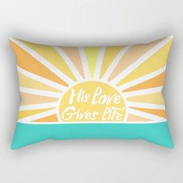 Quote God Rectangular Pillow