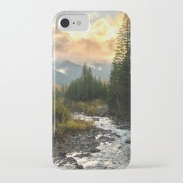The Sandy River I - nature photography iPhone Case