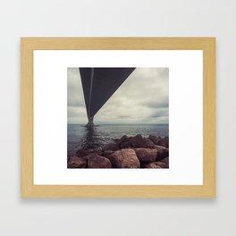 Confederation Bridge Framed Art Print