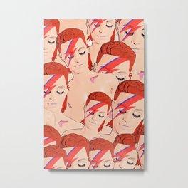Zowie Bowies! Metal Print