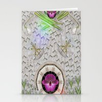 asian Stationery Cards featuring Asian pattern by Pepita Selles