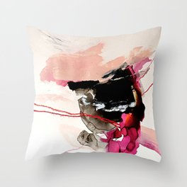 Day 32: Present conversations materialize then pass (like a fleeting Instagram post). Throw Pillow