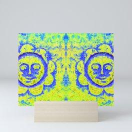 Eternal sunshine (mug yellow/blue) Mini Art Print