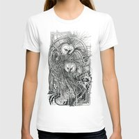 owls T-shirts featuring Owls by Irina Vinnik