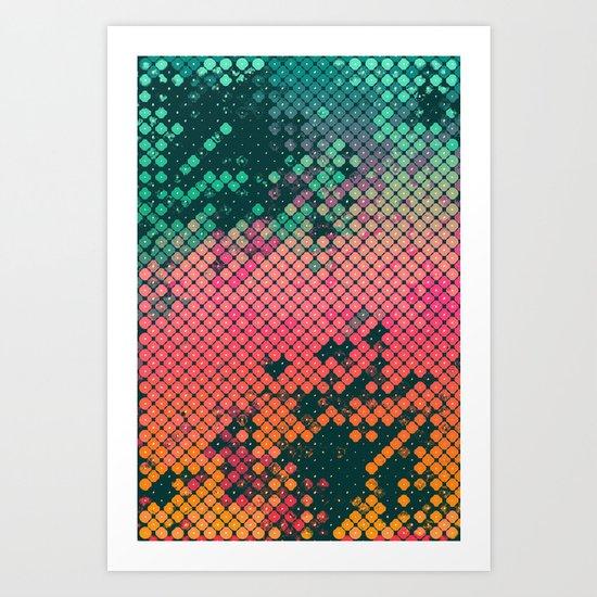scryyn dryp Art Print