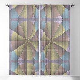 Where To Begin Sheer Curtain