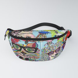 Hip Animals with Glasses . . . The Cool Kids! Fanny Pack