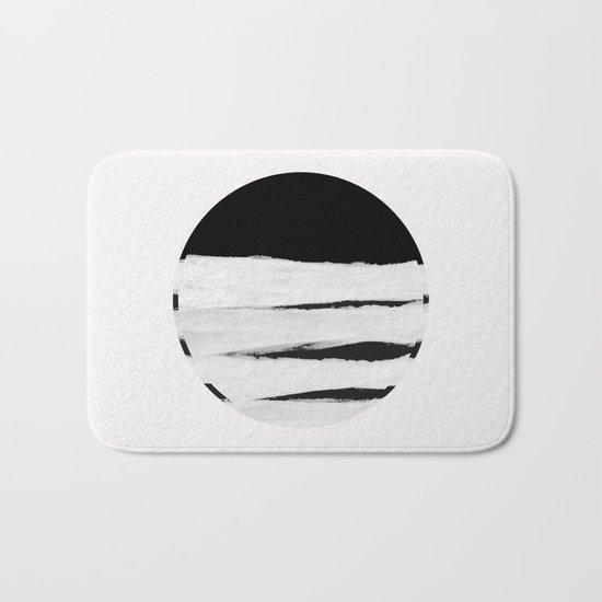 White Space Bath Mat