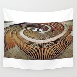 AllenbyArt Spiral Out Landscape Scenery, An Exceptional Photography,  Wall Tapestry
