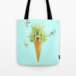 Weed flavored Ice Cream Tote Bag