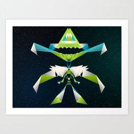 MechaDragon Art Print