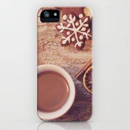 Cookies & tea iPhone Case