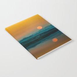 Serene Sunrise by the Lake Notebook